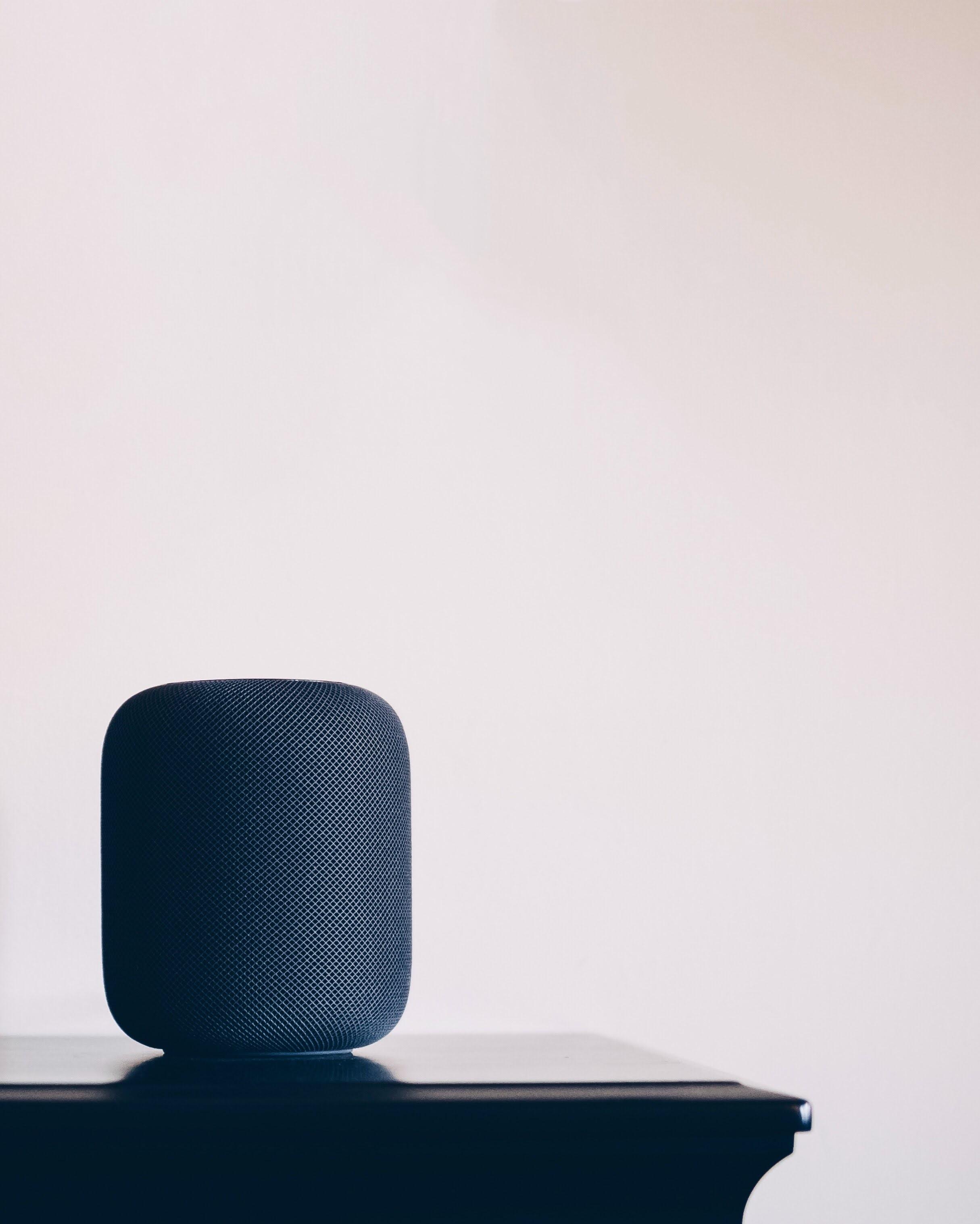 Immagine di un moderno smart speaker